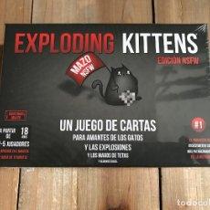 Juegos de mesa: JUEGO DE CARTAS - EXPLODING KITTENS NSFW - ASMODEE - PRECINTADO. Lote 158499142