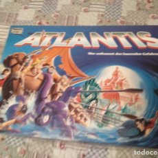 Juegos de mesa: ESCAPE DE ATLANTIS PARKER CON FIGURAS FROM 80 VINTAGE RETRO. Lote 158493502