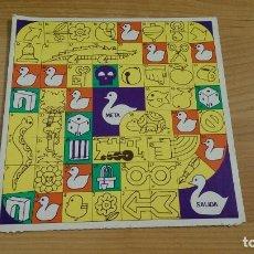 Juegos de mesa: TABLERO «JUEGO DE LA OCA» CARTÓN. Lote 158699722