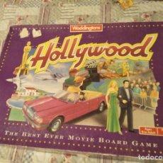 Juegos de mesa: HOLLYWOOD 1990 WADDINGTONS GAMES VINTAGE RETRO. Lote 158779678