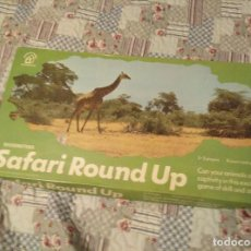 Juegos de mesa: SAFARI ROUND UP WADDINGTONS 1970 VINTAGE RETRO. Lote 158780930