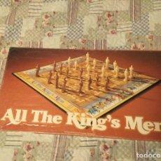 Juegos de mesa: ALL THE KING'S MEN 1970 PARKER BROTHERS PARECE AJEDREZ VINTAGE RETRO. Lote 158782318