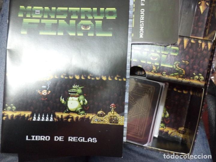 Juegos de mesa: Juego de cartas de construcción de Mazmorras.EDGE Monstruo final.155 cartas repletas de píxeles. - Foto 3 - 158911550