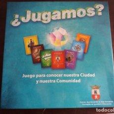 Juegos de mesa: ¿JUGAMOS? JUEGO PARA CONOCER NUESTRA CIUDAD Y NUESTRA COMUNIDAD,DOS HERMANAS. Lote 158920578