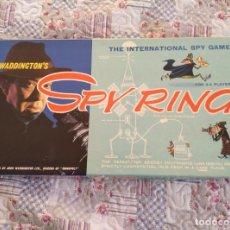 Juegos de mesa: SPY RING WADDINGTONS 1965 RETRO VINTAGE COMPLETO. Lote 159129682
