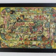 Juegos de mesa: JUEGO DE LA OCA ENMARCADO.AÑOS 40. Lote 159195198