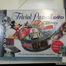 Juegos de mesa: TRIVIAL PERSUIT DISNEY DVD. Lote 209915478