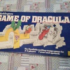 Juegos de mesa: GAME OF DRACULA 1970 WADDINGTONS COMPLETO. Lote 159270386