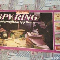 Juegos de mesa: SPY RING 1980 WADDINGTONS COMPLETO. Lote 159272022