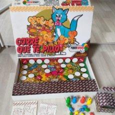 Juegos de mesa: JUEGO DE MESA CORRE QUE TE PILLO FEBER VINTAGE AÑOS 80. Lote 159305670
