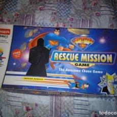 Juegos de mesa: SUPERMAN RESCUE MISSION GAME COMPLETO INGLÉS. Lote 159696466