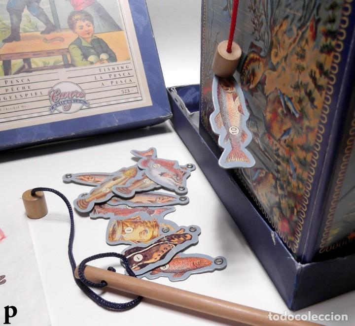 Juegos de mesa: Juego de mesa Antiguo LA PESCA marca CAYRO - Foto 3 - 289631618