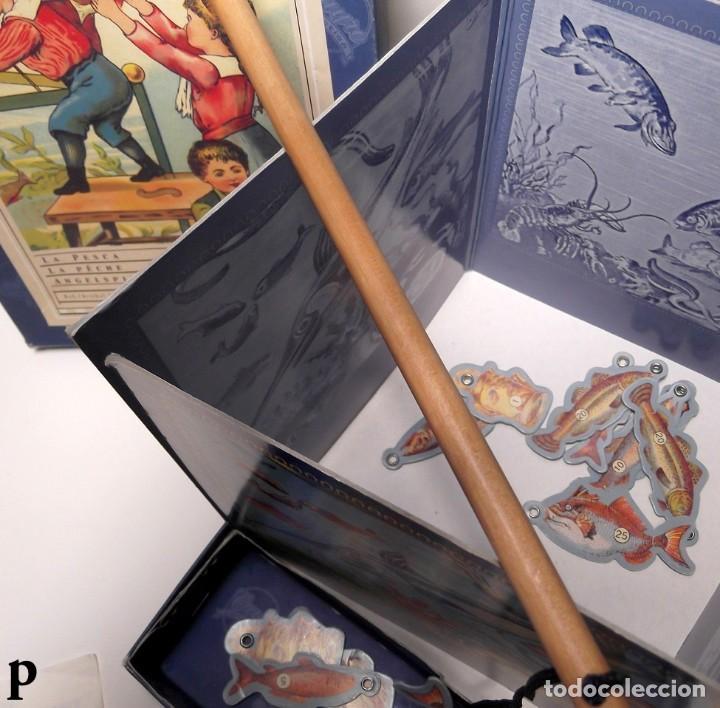 Juegos de mesa: Juego de mesa Antiguo LA PESCA marca CAYRO - Foto 4 - 289631618