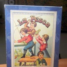 Juegos de mesa: JUEGO DE MESA ANTIGUO LA PESCA MARCA CAYRO. Lote 289631618