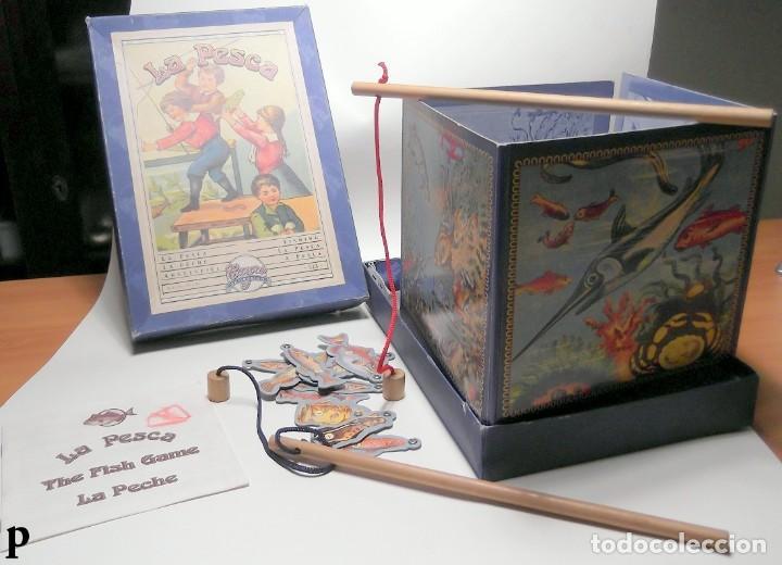 Juegos de mesa: Juego de mesa Antiguo LA PESCA marca CAYRO - Foto 2 - 289631618