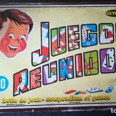 Juegos de mesa: JUEGOS REUNIDOS GEYPER Nº 10 - NO ESTA COMPLETO, VER FOTOS Y DETALLES. Lote 159913898