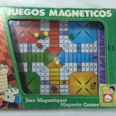 Juegos de mesa: PARCHÍS MAGNÉTICO DE CHICO. Lote 160077398