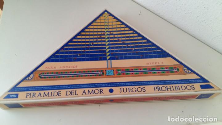 JUEGO DE MESA PARA ADULTOS PIRAMIDE DEL AMOR JUEGOS PROHIBIDOS NIVEL 1 DE CEJU AÑO 1988 COMPLETO (Juguetes - Juegos - Juegos de Mesa)