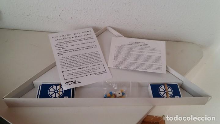 Juegos de mesa: JUEGO DE MESA PARA ADULTOS PIRAMIDE DEL AMOR JUEGOS PROHIBIDOS NIVEL 1 DE CEJU AÑO 1988 COMPLETO - Foto 2 - 160288038