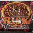 Juegos de mesa: JUEGO DE MESA RISK EL SEÑOR DE LOS ANILLOS MUY COMPLETO CAJA DESGASTADA. Lote 160613066