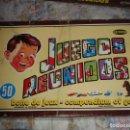 Juegos de mesa: JUEGOS REUNIDOS GEYPER DE 50 JUEGOS DE LOS AÑOS 70. Lote 160726510