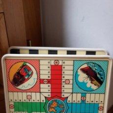 Juegos de mesa: ANTIGUO JUEGO DE PARCHIS, OCA Y DAMAS AÑOS 60. Lote 195382871