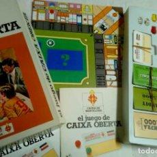 Juegos de mesa: EL JUEGO DE CAIXA OBERTA. Lote 161156206