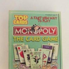Juegos de mesa: MONOPOLY - THE CARD GAME - EL JUEGO DE CARTAS -. Lote 161281258
