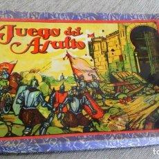 Juegos de mesa: JUEGO DE MESA ANTIGUO ´JUEGO DEL ASALTO´ DE ´ENRIQUE BORRÁS Y CÍA´. Lote 161472278