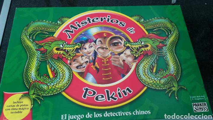 JUEGO MISTERIO DE PEKIN. PARKER (Juguetes - Juegos - Juegos de Mesa)