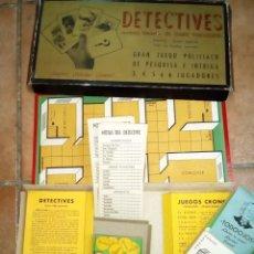 Juegos de mesa: JUEGO MESA POLICÍACO DETECTIVES AÑOS 50 EL CASO TODOOJOS, . Lote 161632378