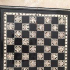 Juegos de mesa: TABLERO AJEDREZ/ BACKGAMMON. Lote 161680800