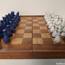 Juegos de mesa: AJEDREZ CERÁMICA. Lote 161684141