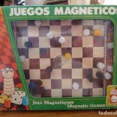 Juegos de mesa: JUEGO MAGNETICO DE DAMAS CHICOS. Lote 161815038
