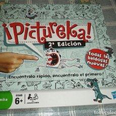 Juegos de mesa - JUEGO PICTUREKA DE PARKER / HASBRO 2ª EDICION COMPLETO A FALTA DEL RELOJ - 161841634