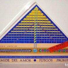 Juegos de mesa: JUEGO DE MESA - PIRÁMIDE DEL AMOR NIVEL 2 - JUEGO PARA ADULTOS - CEJU ESPAÑA ALICANTE. Lote 161903566