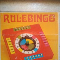 Juegos de mesa: JUEGO RULEBINGO. Lote 161958362
