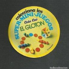 Juegos de mesa: CARATULA JUEGO EL GLOTON - MINI JUEGOS COLA CAO. Lote 161974350
