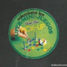 Juegos de mesa: CARATULA JUEGO PICK-UP - MINI JUEGOS COLA CAO. Lote 161974598