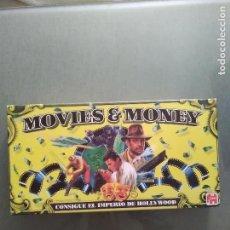 Juegos de mesa: JUEGO DE MESA MOVIES MONEY COMPLETO. Lote 161976982
