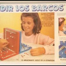 Juegos de mesa: JUEGO MESA HUNDIR LOS BARCOS FALOMIR. Lote 162411106