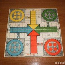 Juegos de mesa: GEYPER JUEGOS REUNIDOS: ANTIGUO TABLERO PARCHÍS. Lote 162458314