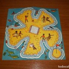 Juegos de mesa: GEYPER JUEGOS REUNIDOS: TABLERO PLAYA ISLA TRÉBOL. Lote 162460670