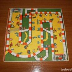 Juegos de mesa: GEYPER JUEGOS REUNIDOS: TABLERO JUEGO DE LA CIRCULACIÓN. Lote 162460926