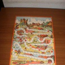 Juegos de mesa: GEYPER JUEGOS REUNIDOS: ANTIGUO TABLERO LA GRAN CARRERA. Lote 162461858