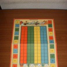 Juegos de mesa: GEYPER JUEGOS REUNIDOS: ANTIGUO TABLERO JUEGO DE LAS QUINIELAS. Lote 162462126