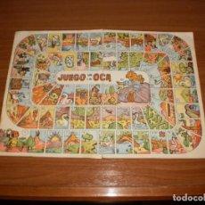 Juegos de mesa: GEYPER JUEGOS REUNIDOS: ANTIGUO TABLERO JUEGO DE LA OCA. Lote 162462218