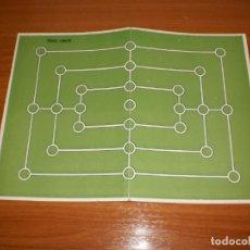 Juegos de mesa: GEYPER JUEGOS REUNIDOS: ANTIGUO TABLERO TRIPLE SUERTE. Lote 162462266