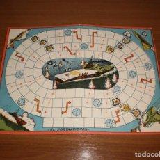 Juegos de mesa: GEYPER JUEGOS REUNIDOS: ANTIGUO TABLERO EL PORTAAVIONES. Lote 162462326