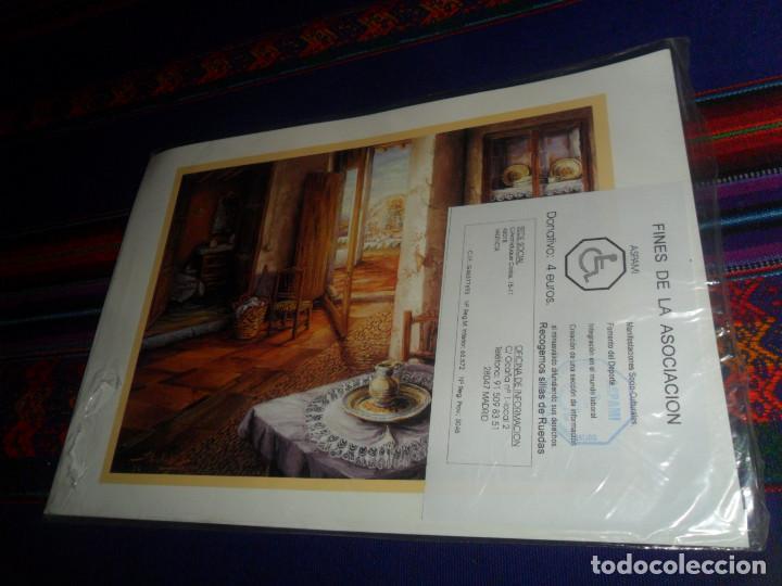 Juegos de mesa: PRECINTADO, PARCHÍS COMPLETO ASPAMI. EN CARTULINA. PRECIOSO Y RARO. - Foto 2 - 162527618